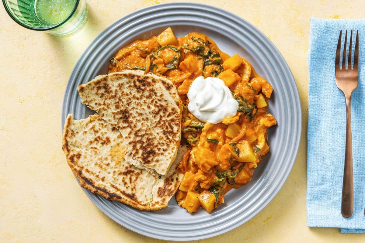 Indisches Hähnchen-Tikka-Curry