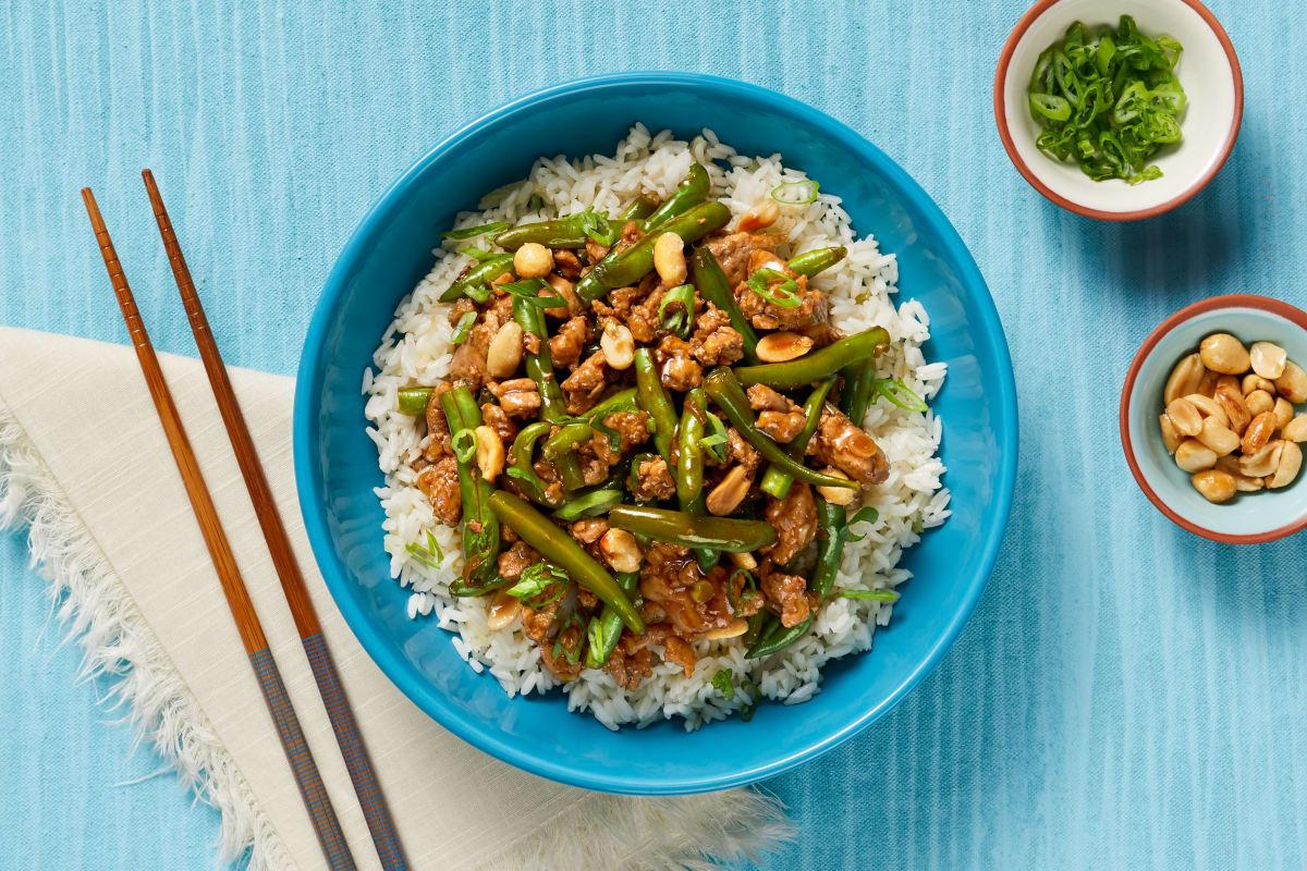 Szechuan Pork & Green Bean Stir-Fry