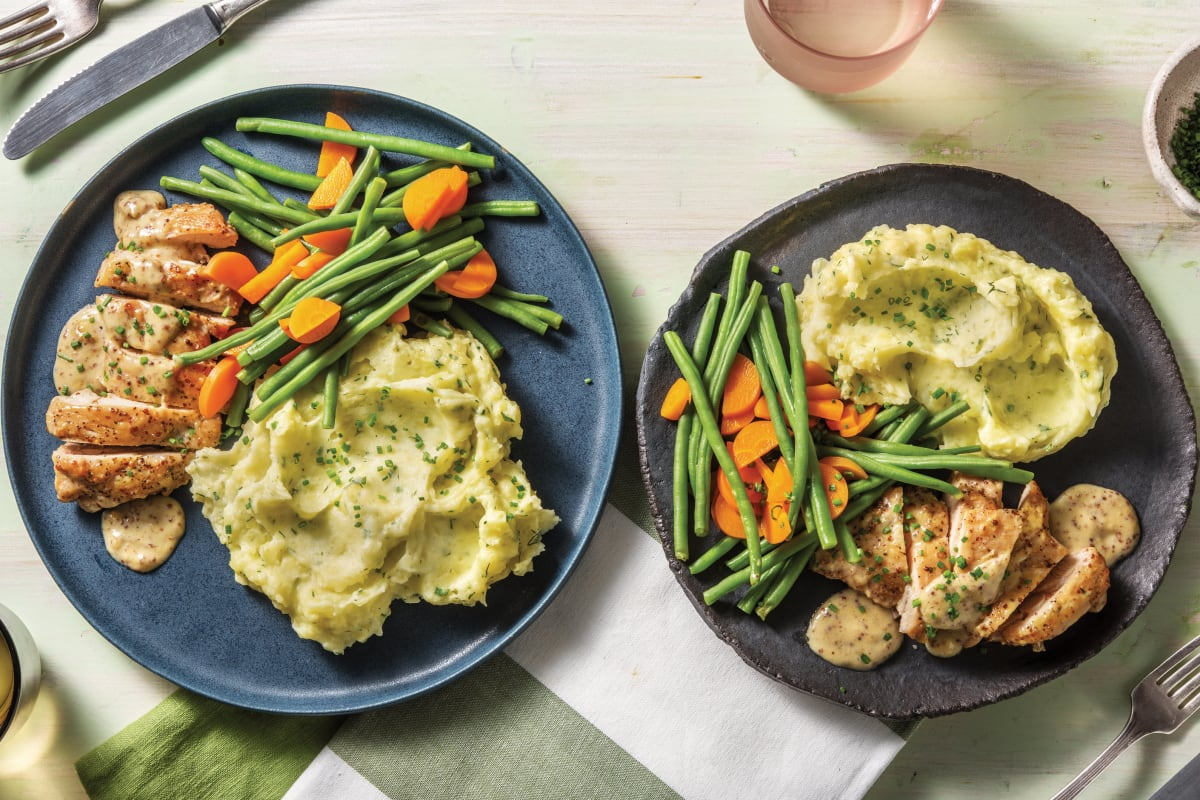 Creamy Honey Mustard Chicken Cook Now Recipe Hellofresh