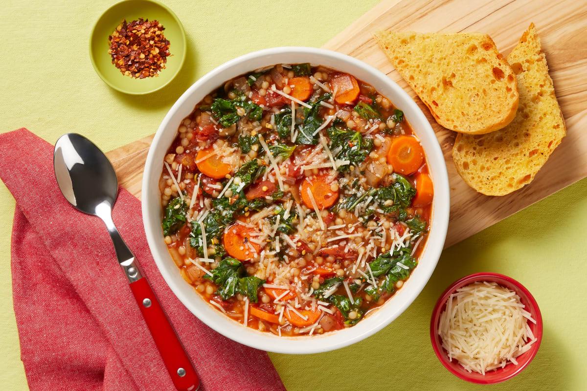 Italian Garden Veggie Soup