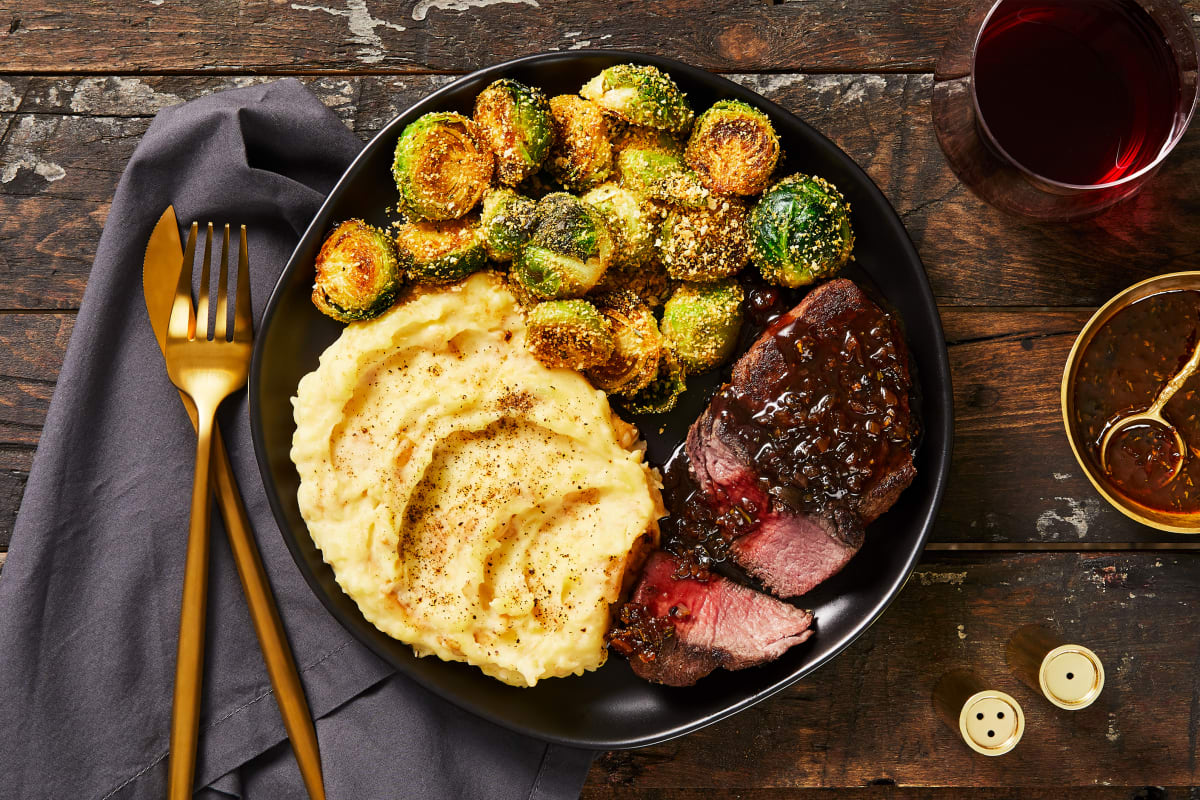 Balsamic & Fig Beef Tenderloin