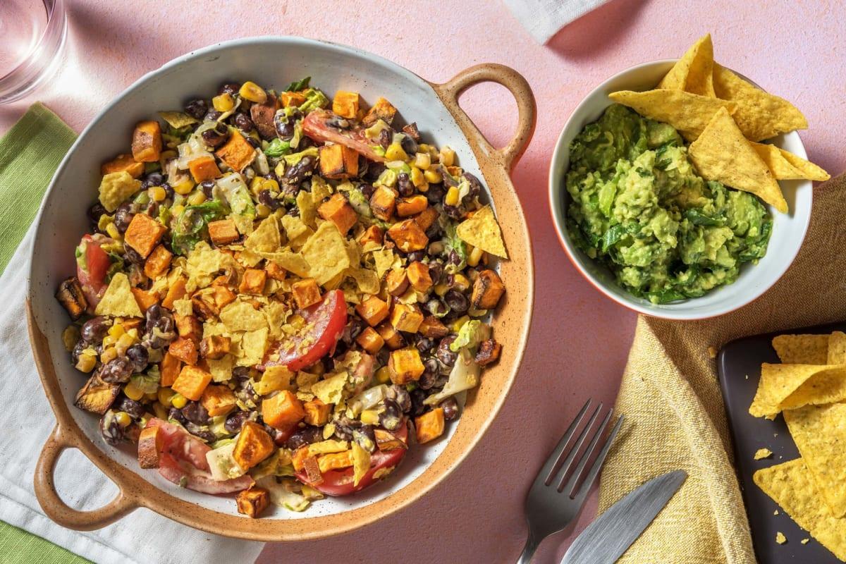 Veganer Tex-Mex-Salat