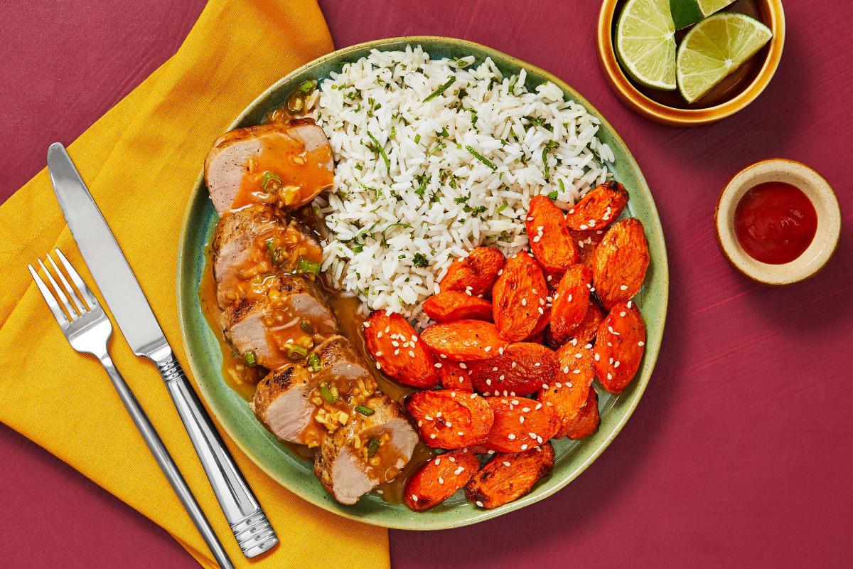 Honey Sriracha Pork Tenderloin