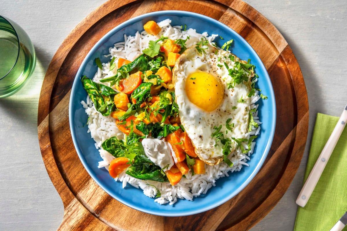 Recept Zoete Aardappel Spinazie Curry