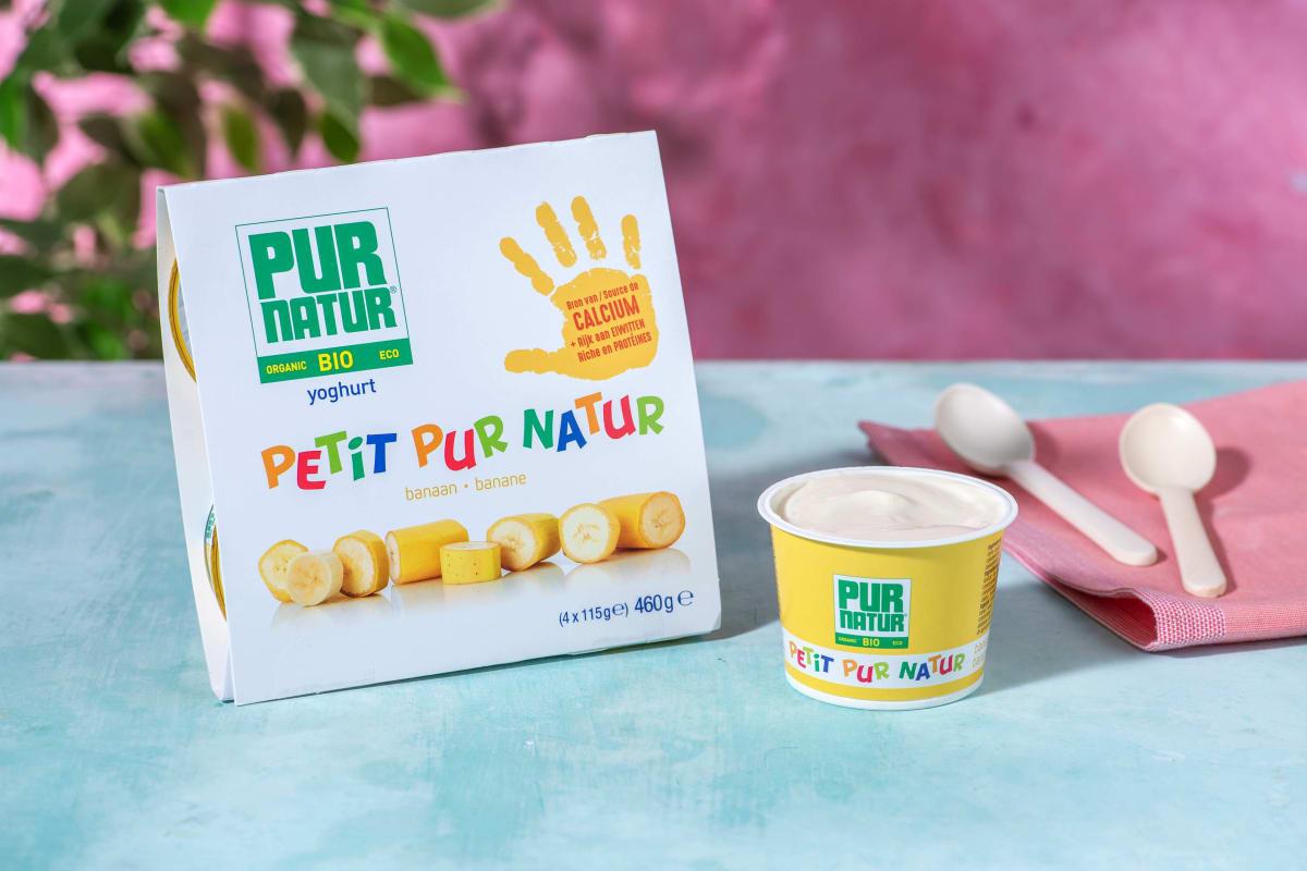 Pur natur - Yaourt banane pour enfants