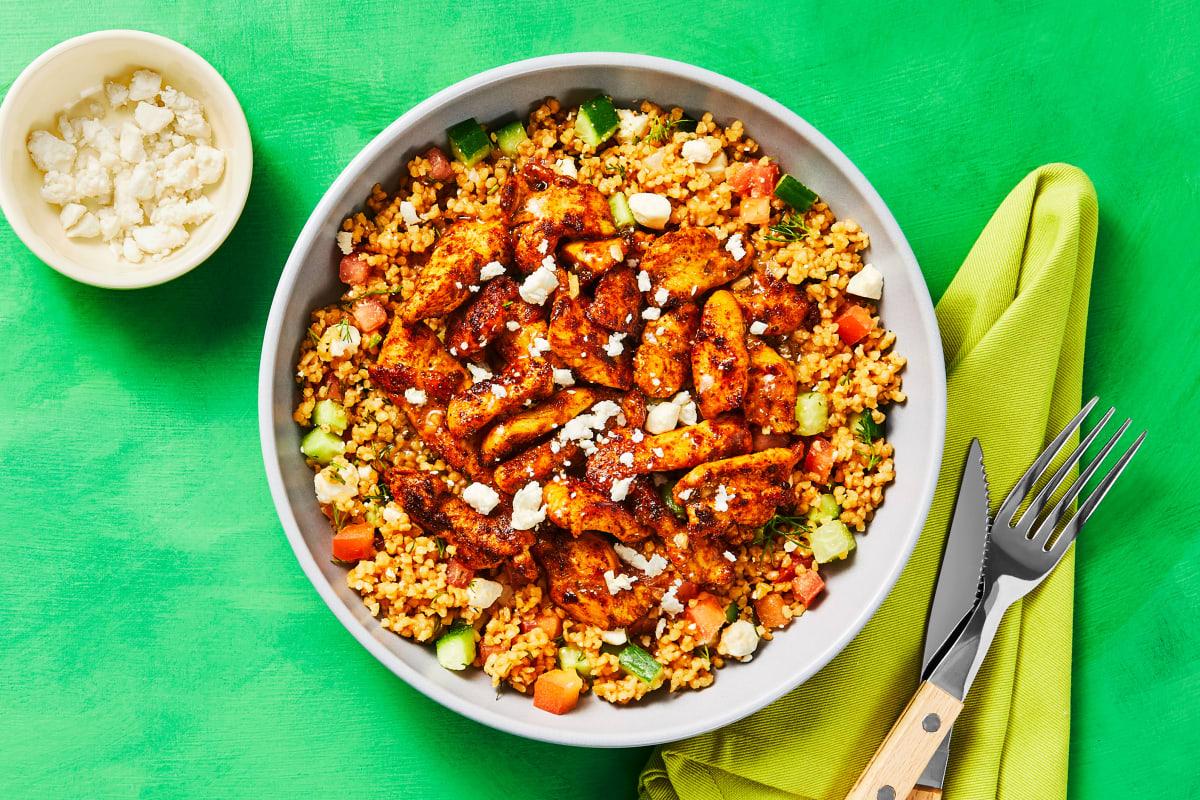 Harissa Chicken Bowls