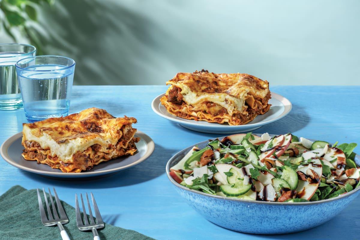 Lasagne & Salad Bundle