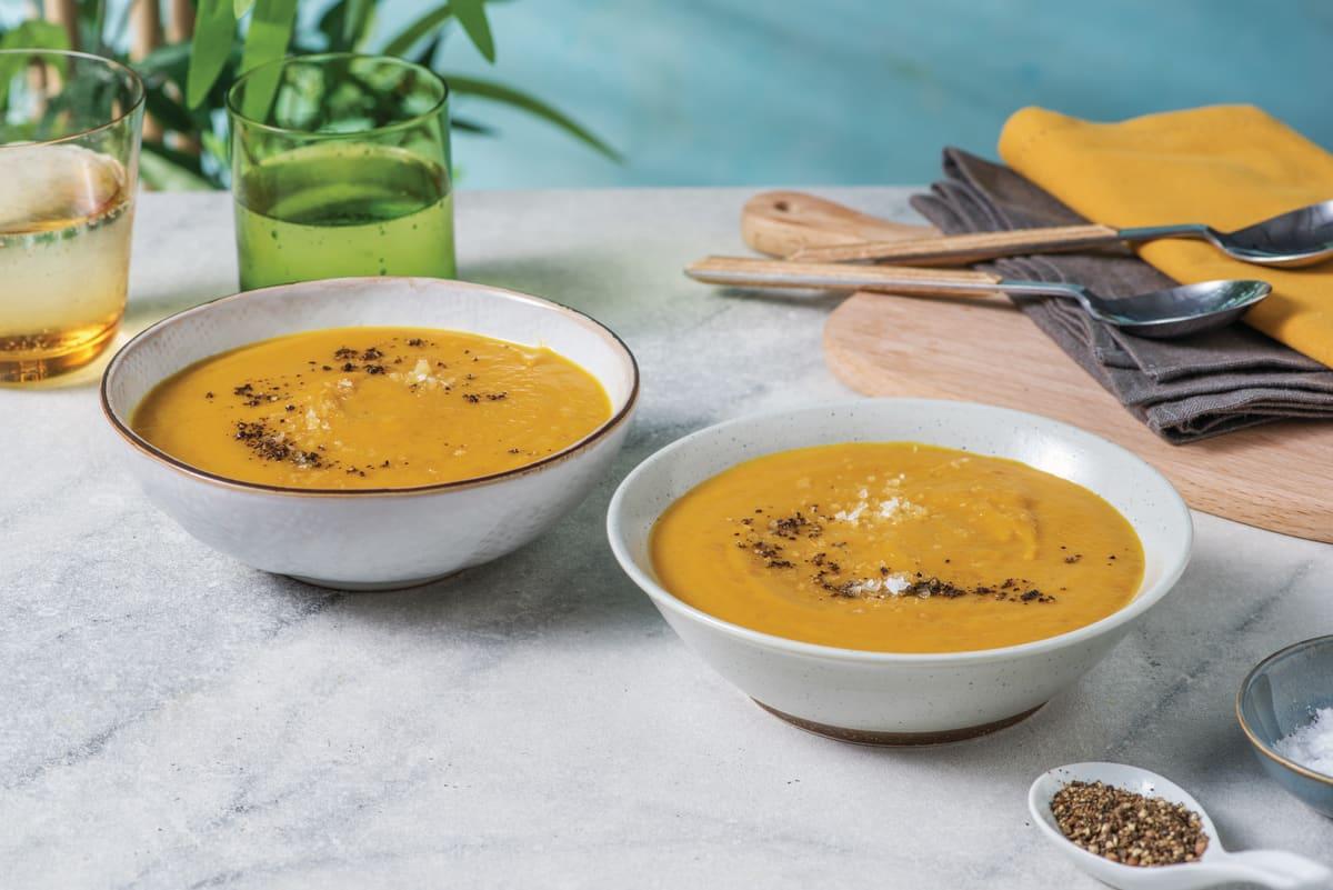 Carrot & Coconut Soup