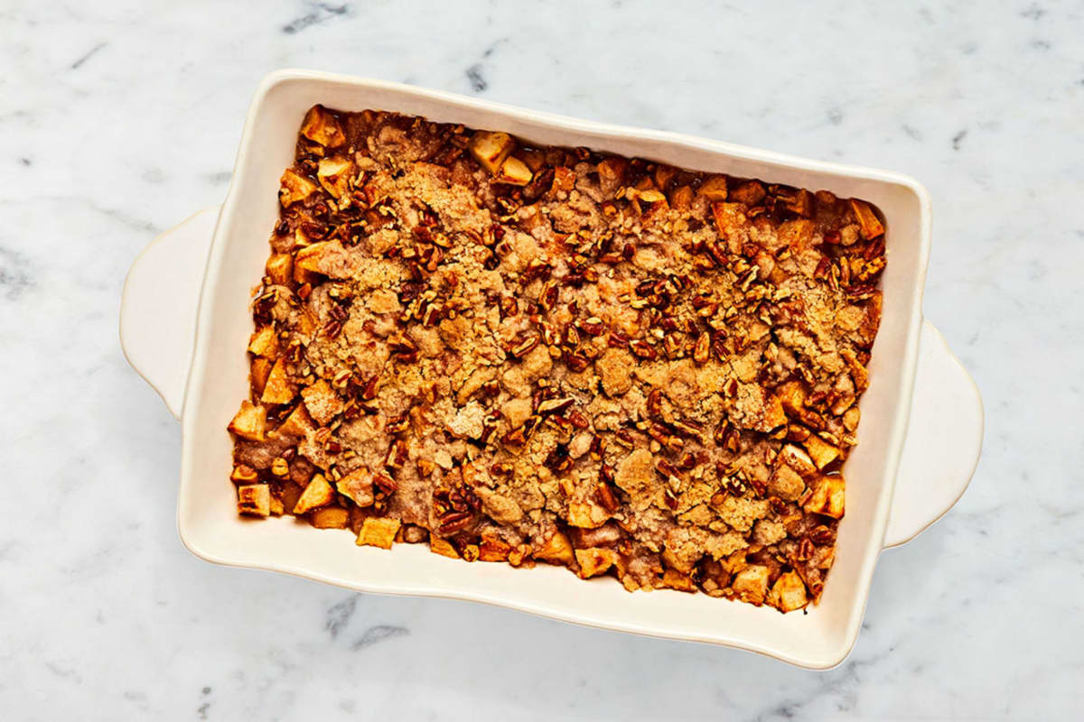 Apple Ginger Crisp