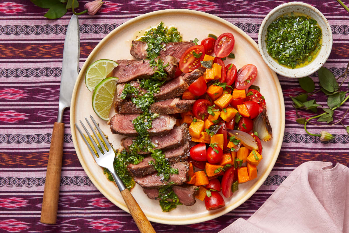 Argentine Chimichurri Steak