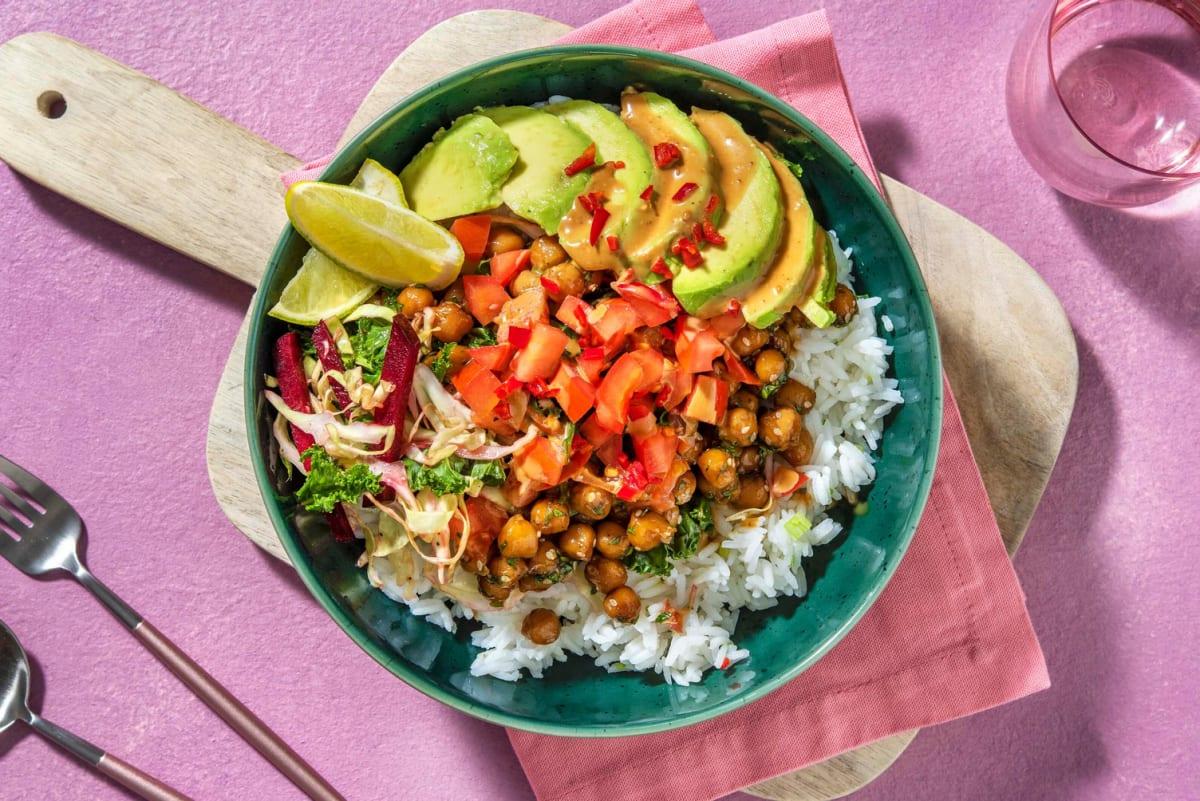 Asiatisk bowl