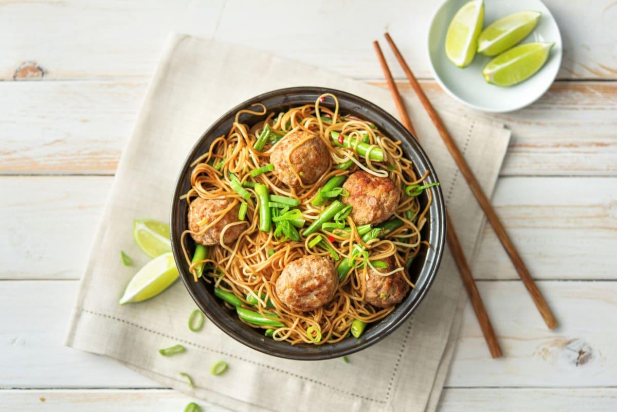 Thai Pork Meatballs