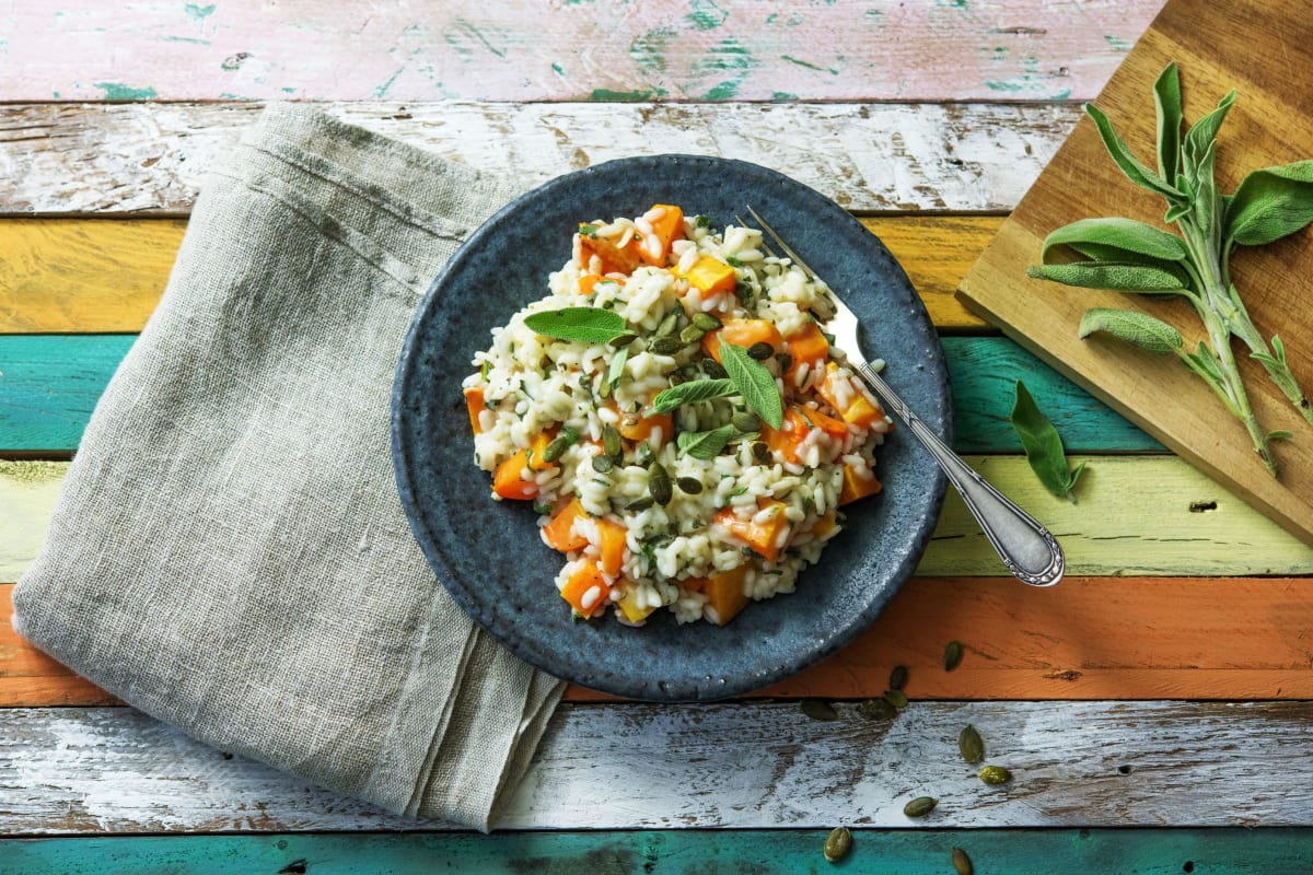 Buttered-Up Butternut Squash Risotto