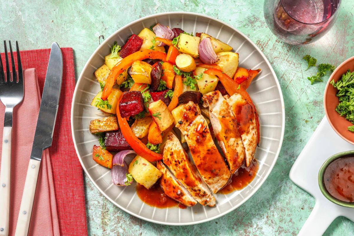 BBQ-kyckling
