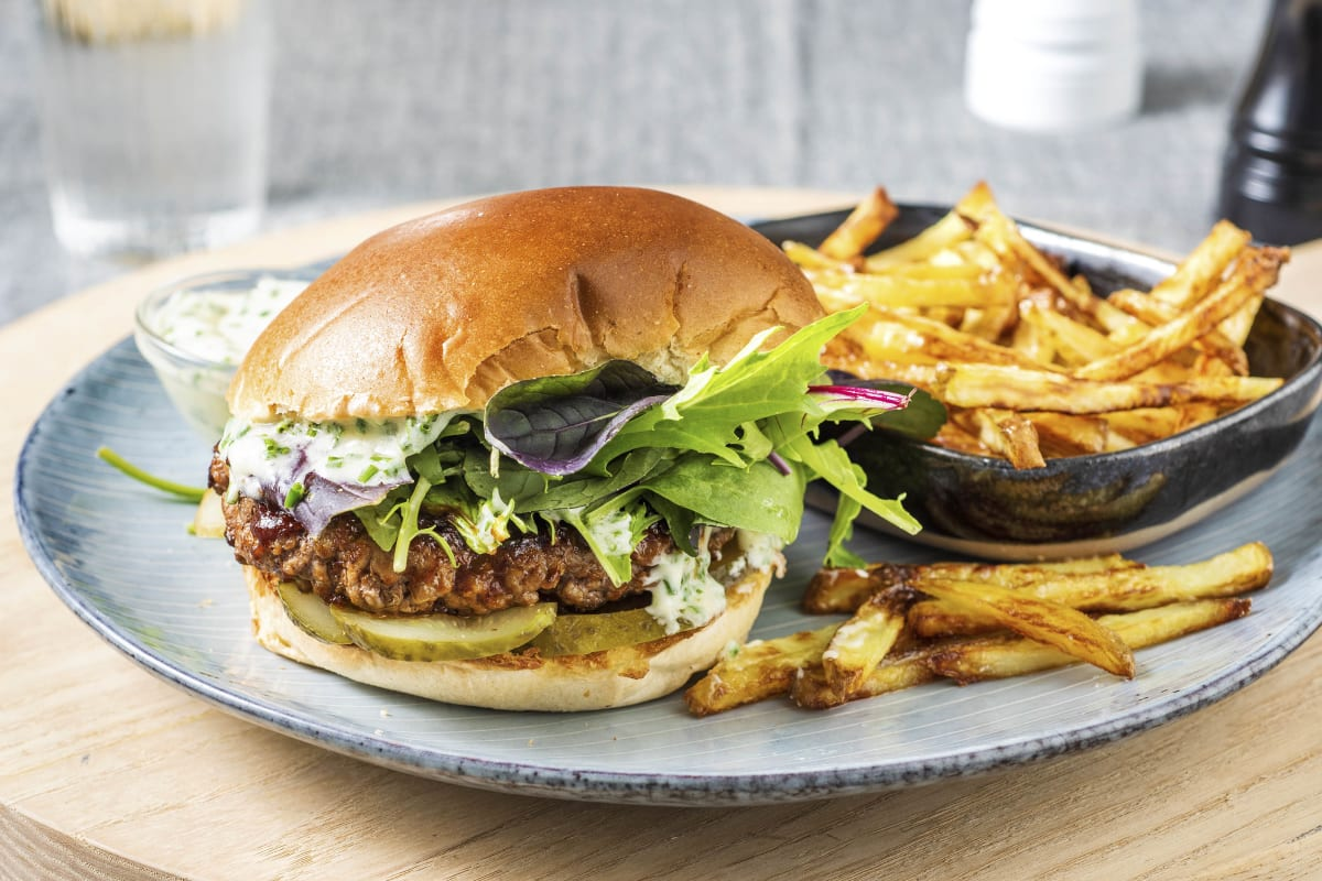 BBQ Ranch Beyond Meat® Burger