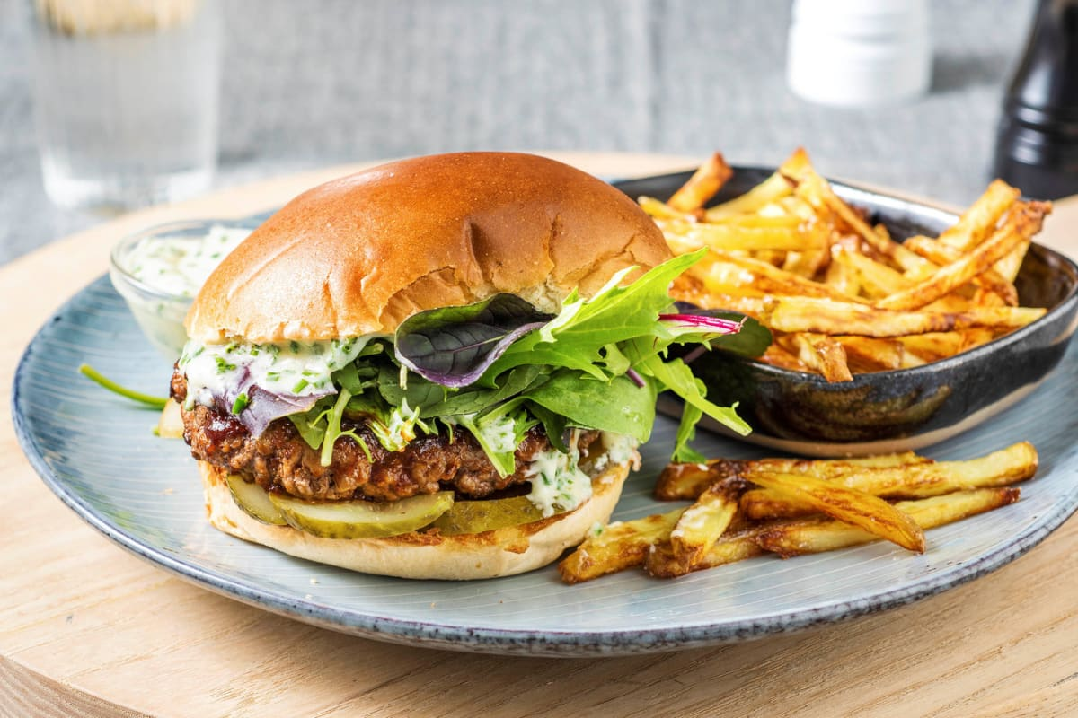 BBQ Ranch Burger