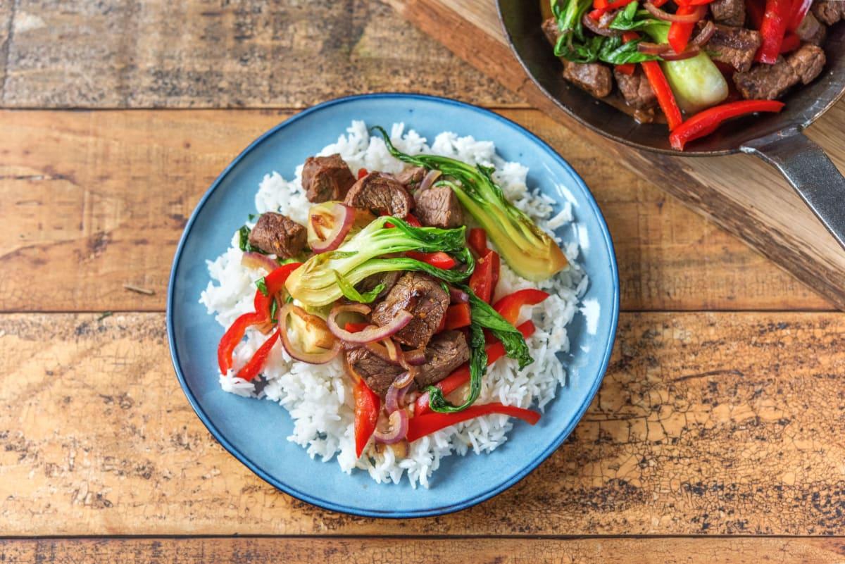 Sizzling Beef Stir-Fry