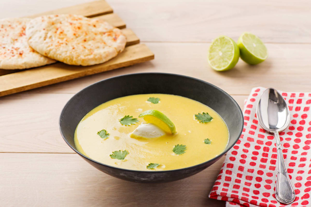 Blumenkohl Curry-Suppe