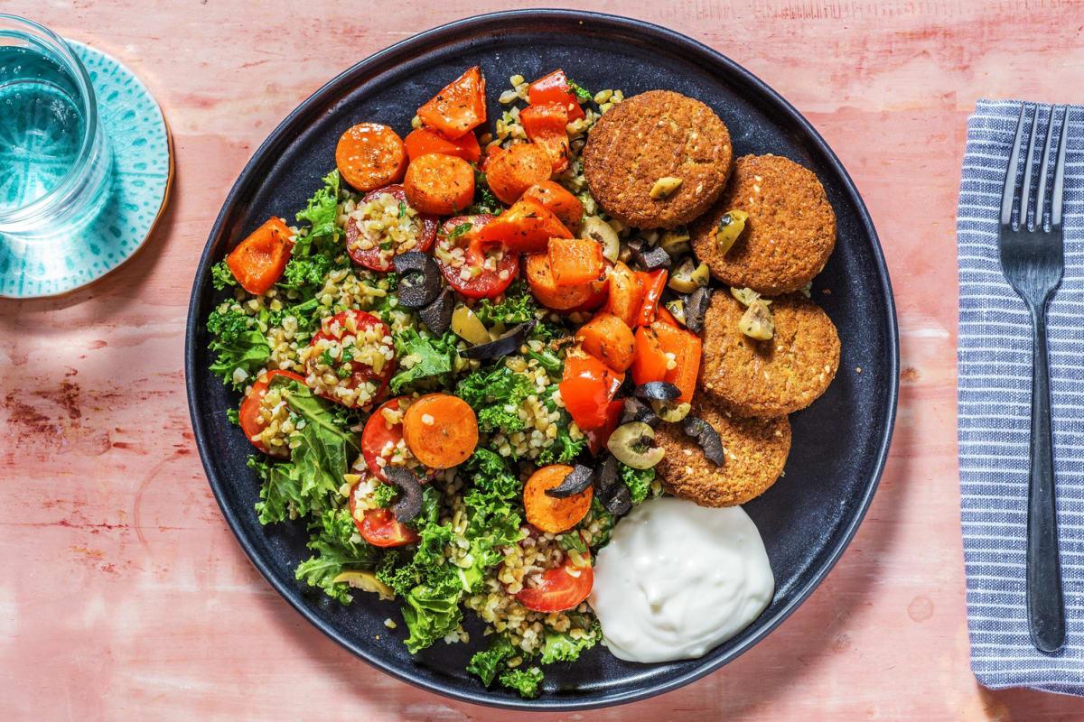 Mediterranean Falafel Bowl
