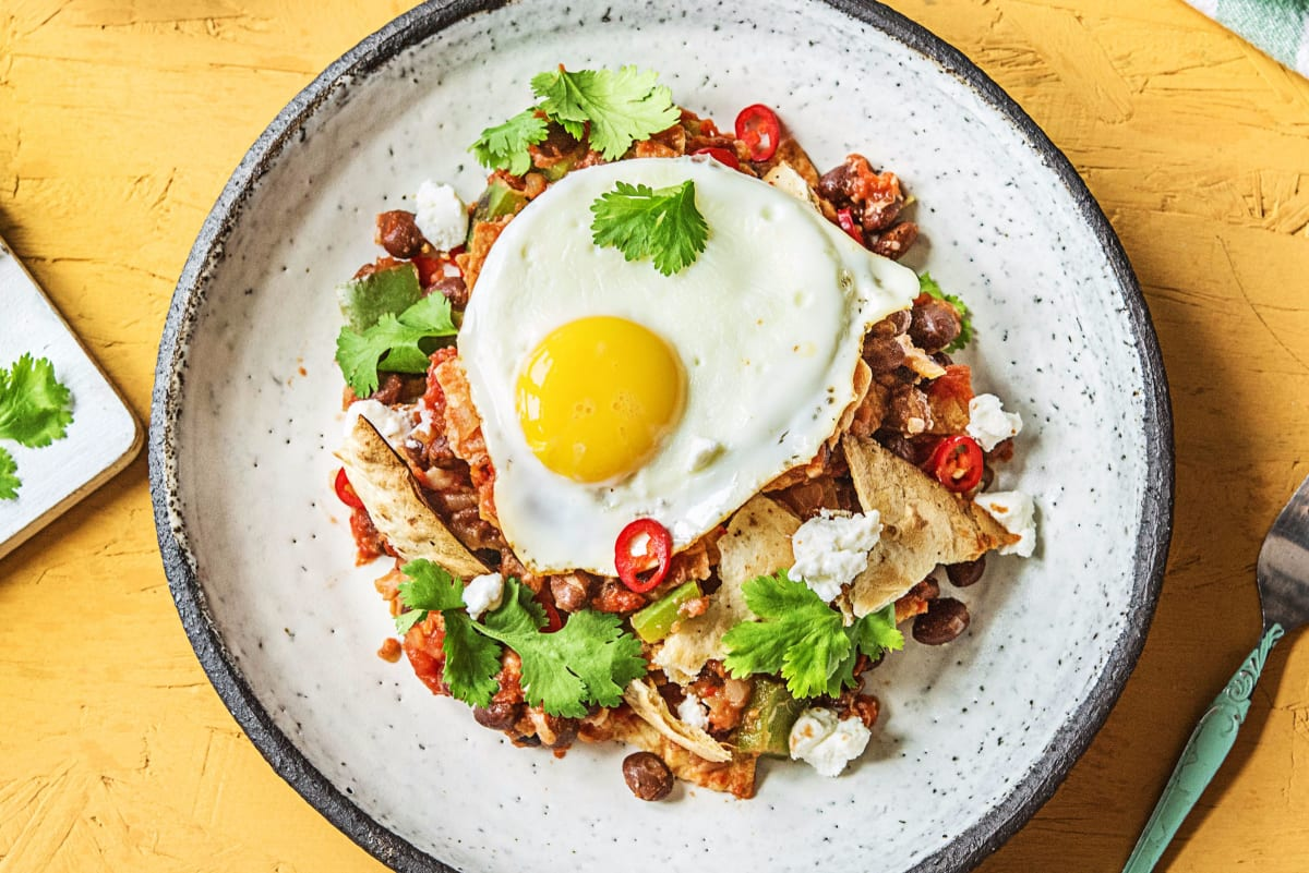 Breakfast Champion's Chilaquiles