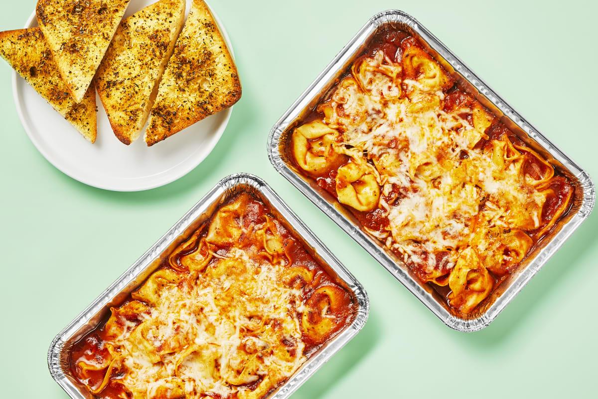 Oven-Ready Bubbly Tortelloni Bake