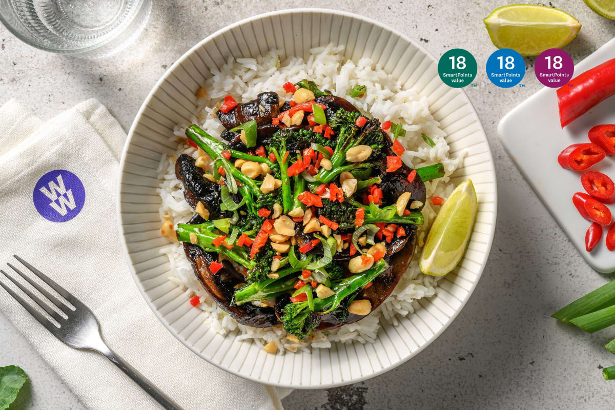 Bulgogi Mushroom and Tenderstem® Broccoli