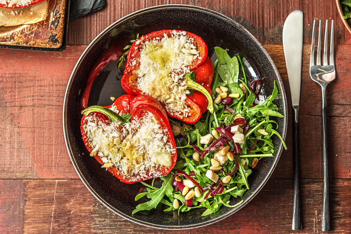 Bulgur-Stuffed Peppers