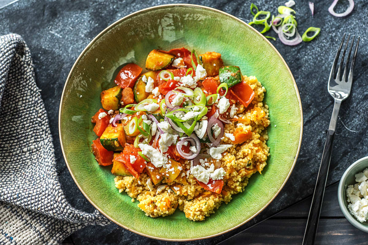 Bunte Couscous-Gemüse-Pfanne