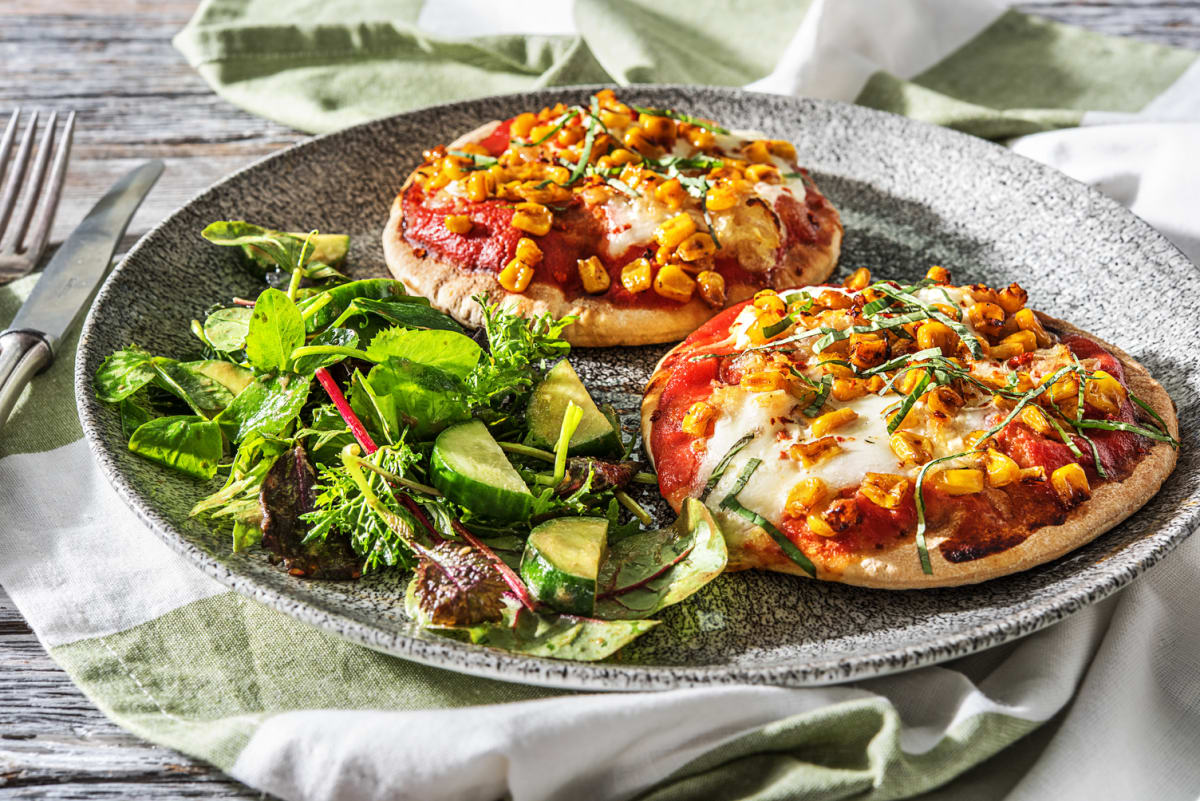 Burrata Margherita Pizzettes