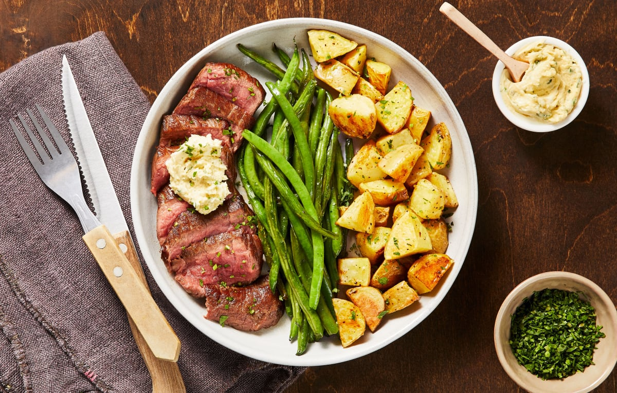 Buttered-Up Steak