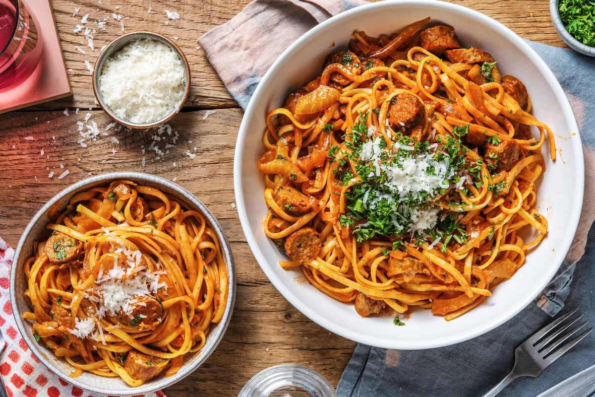 Buttery Fennel and Sausage Pasta