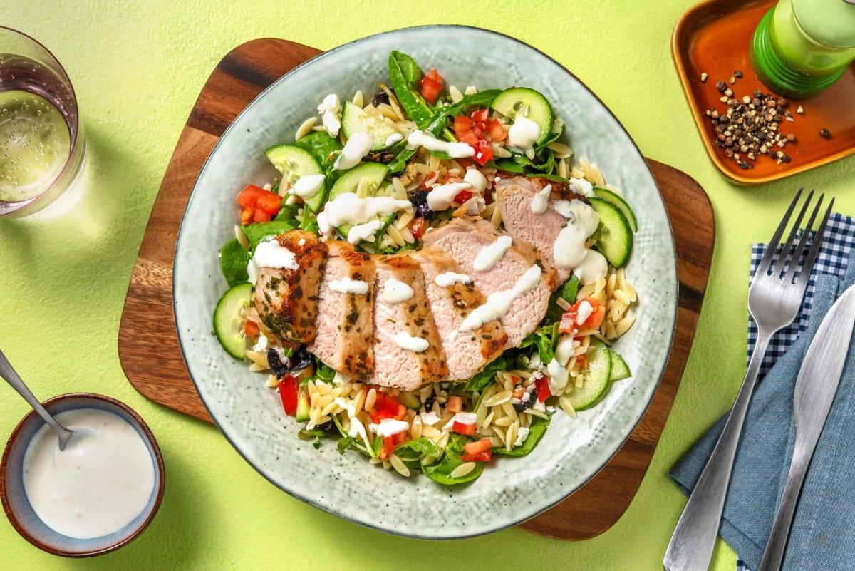 Cal Smart Pork Souvlaki Salad