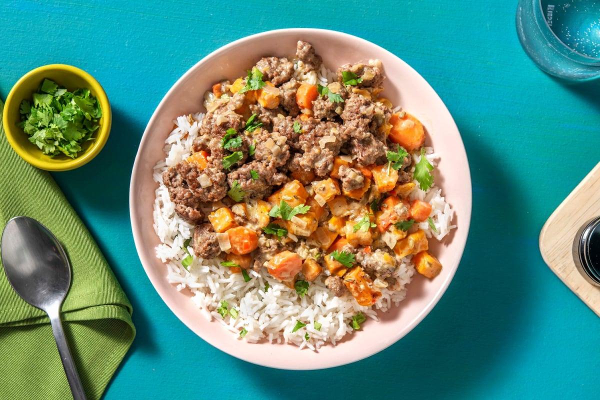 Turmeric Lamb Curry