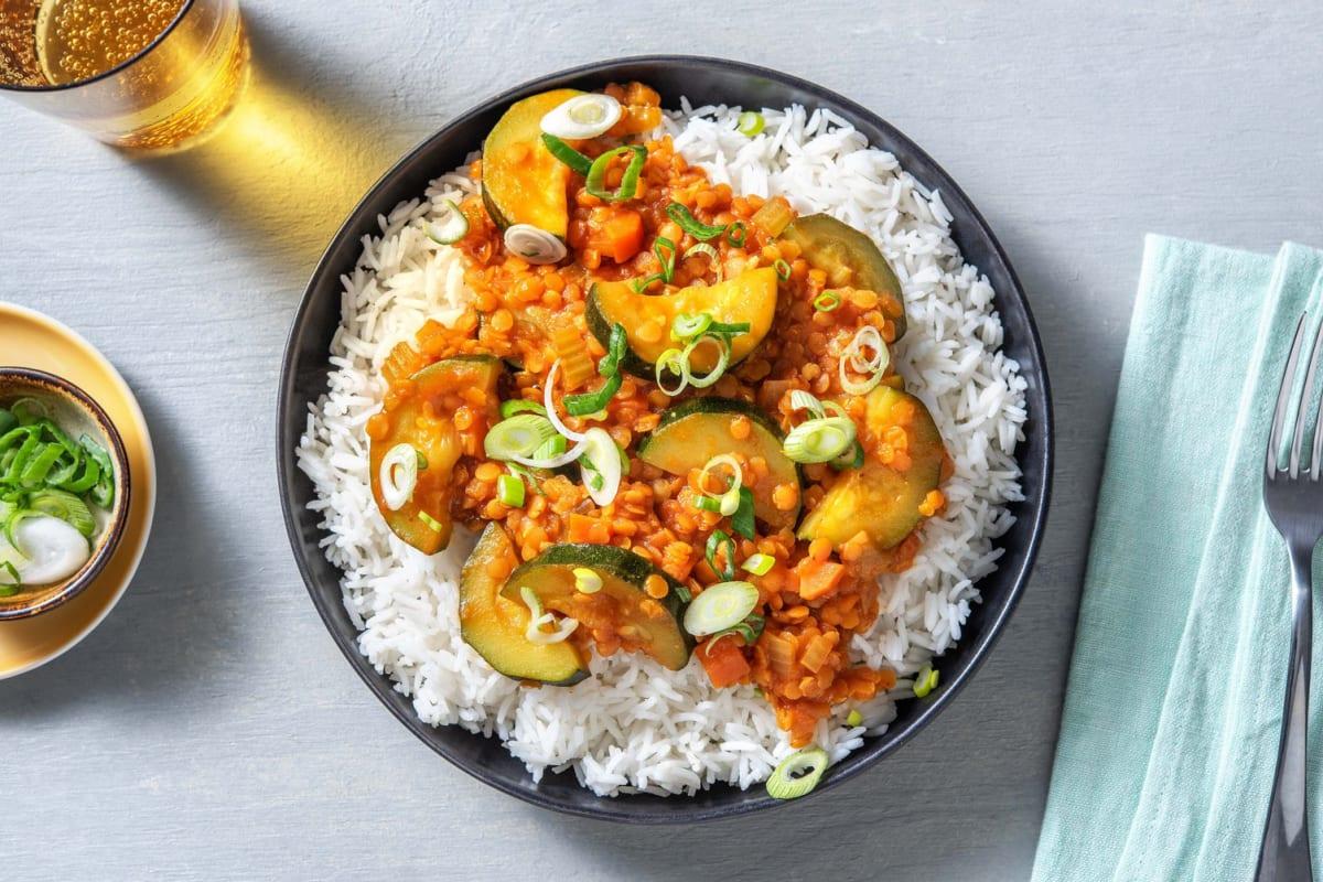 Japanese Lentil Curry