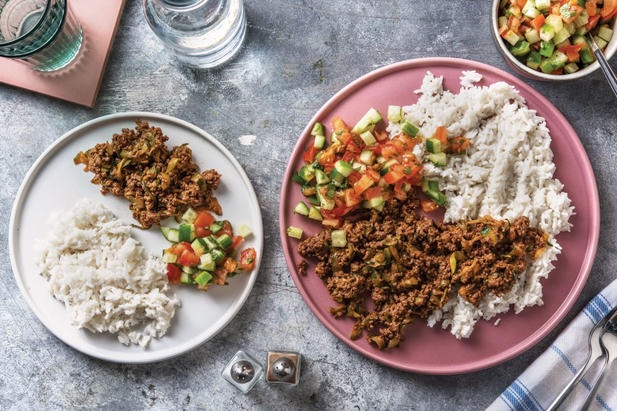 Caribbean Beef Chilli