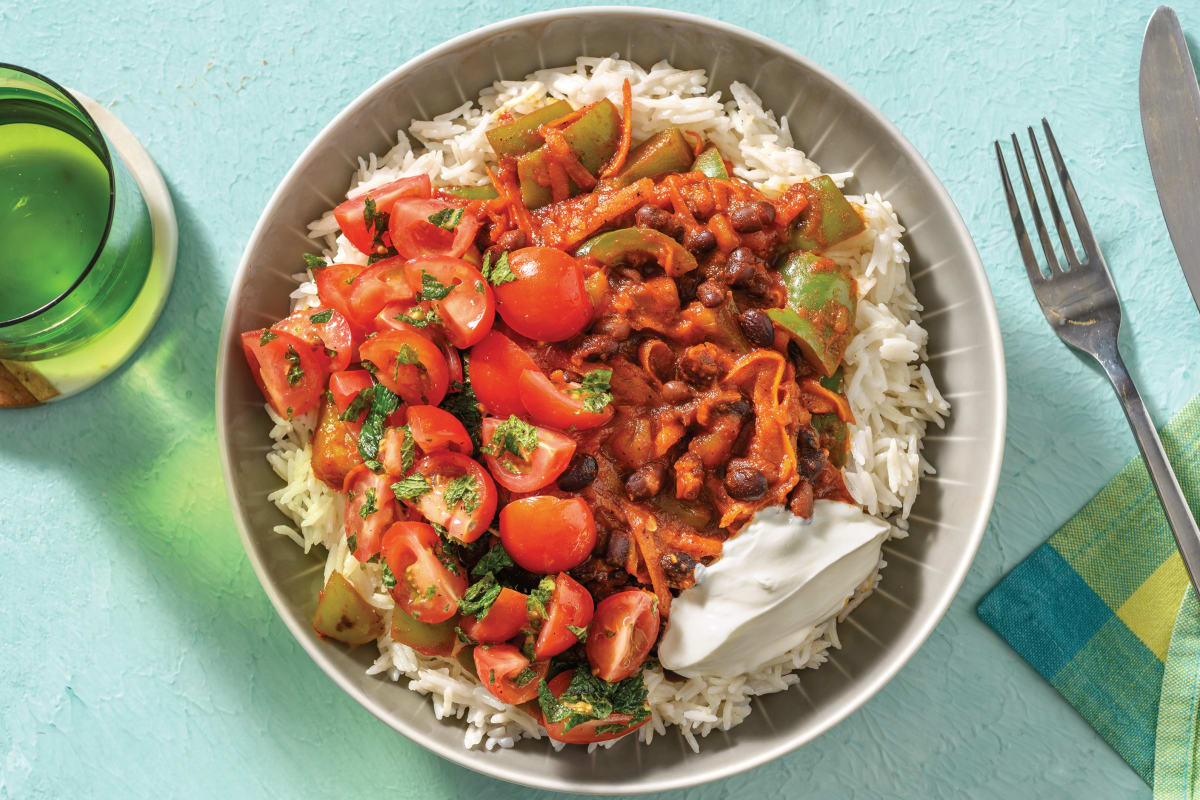 Caribbean Bean Chilli