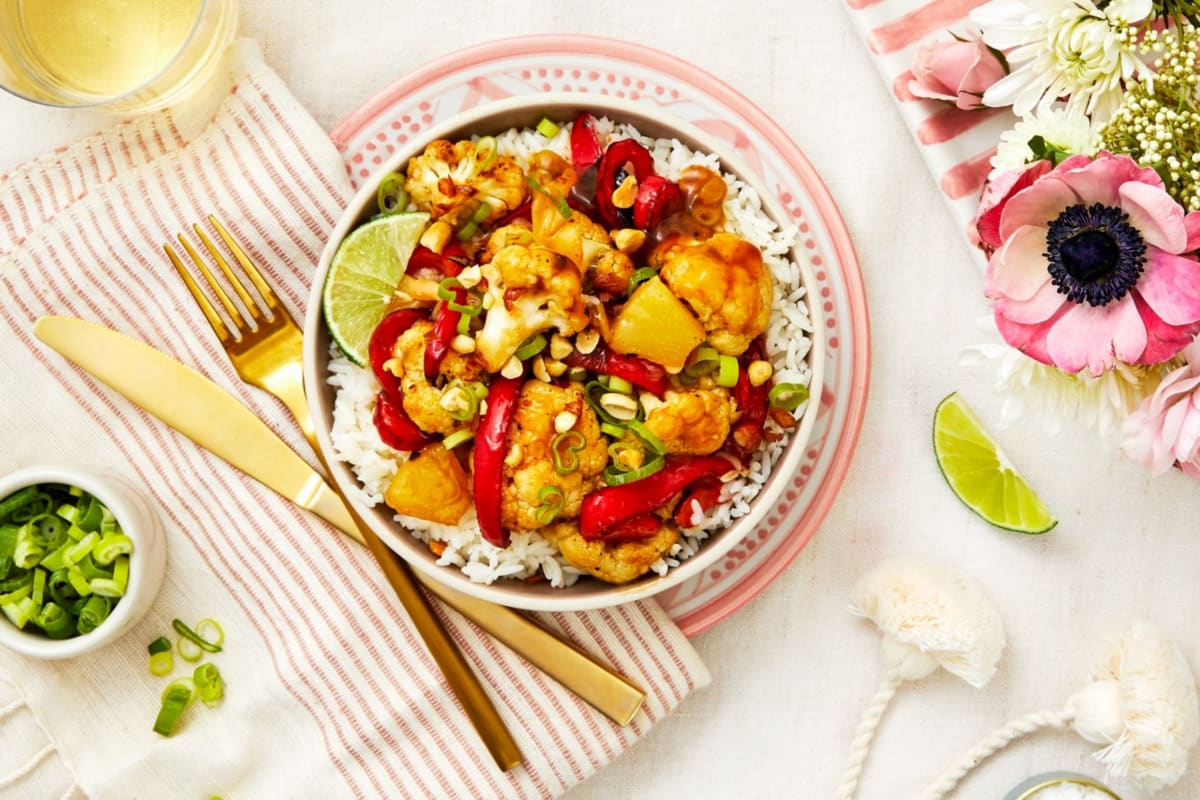 Lauren Conrad's Cauliflower Stir-Fry Bowls