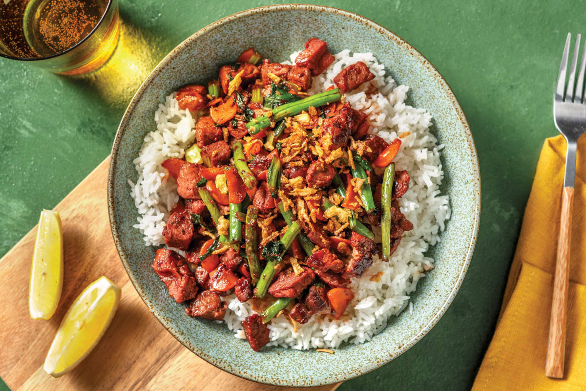Char Siu Beef & Veggie Stir-Fry