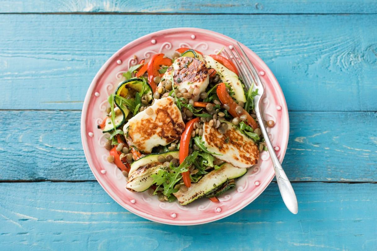 Charred Veggie Salad