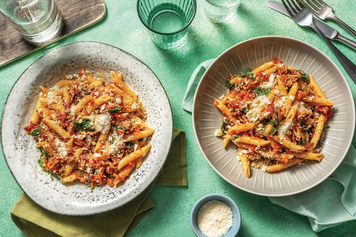 Cheat's Italian Beef & Veggie Bolognese