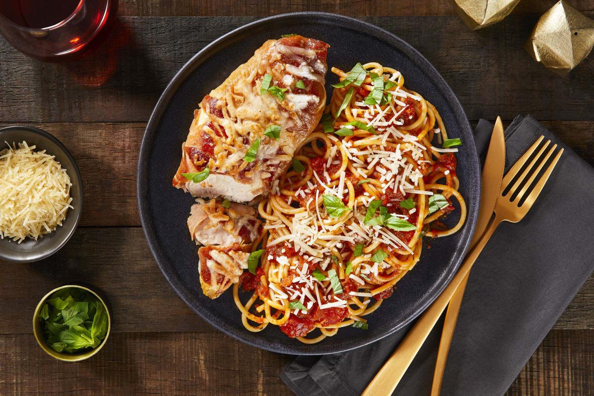 Cheesy Prosciutto Chicken