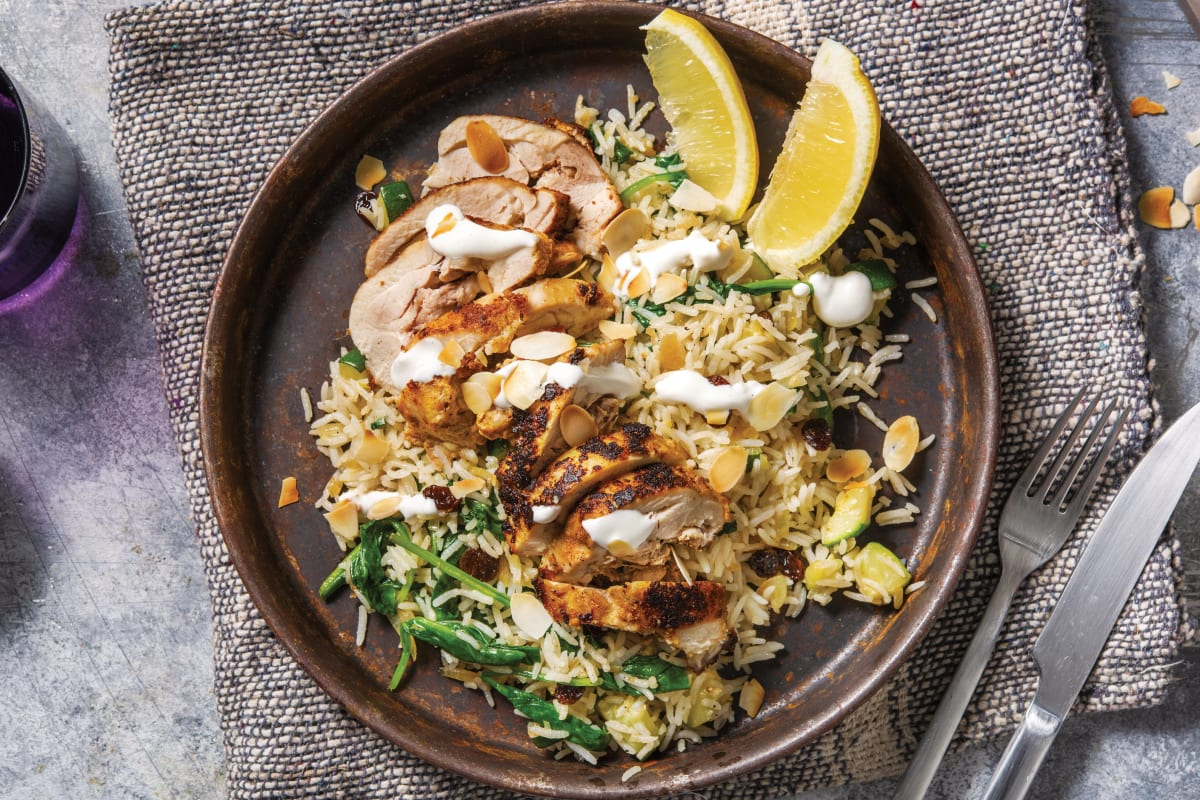 Chermoula-Yoghurt Chicken