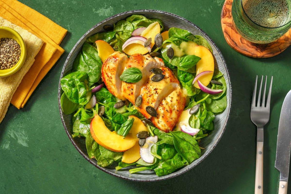 Chicken and Nectarine Summer Salad