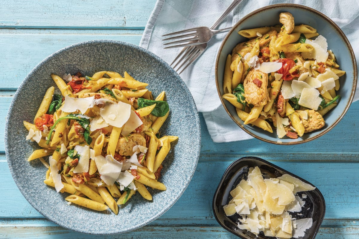 Chicken Bacon Pesto Penne Cook Now Recipe Hellofresh