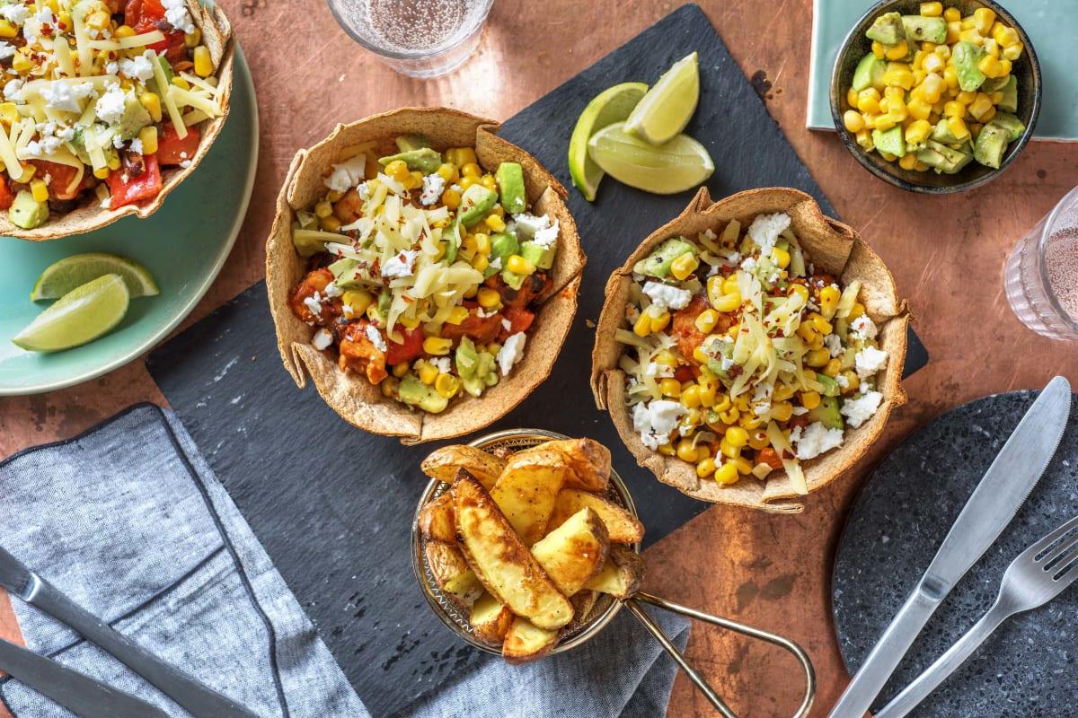Chicken Fajita Taco Bowl