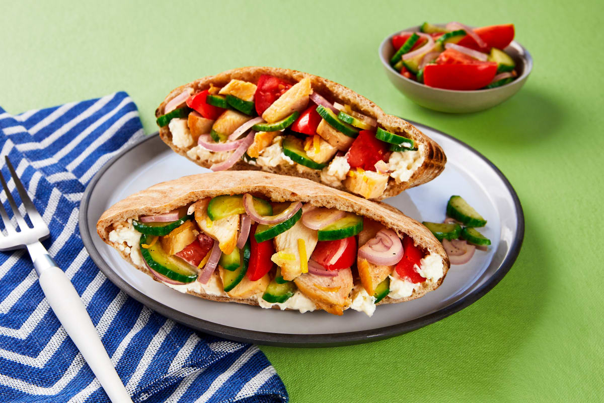 Chicken Pita Pockets Recipe | HelloFresh