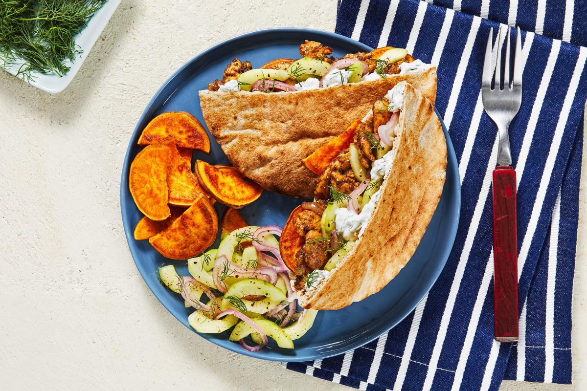 Chicken Souvlaki Pita Pockets