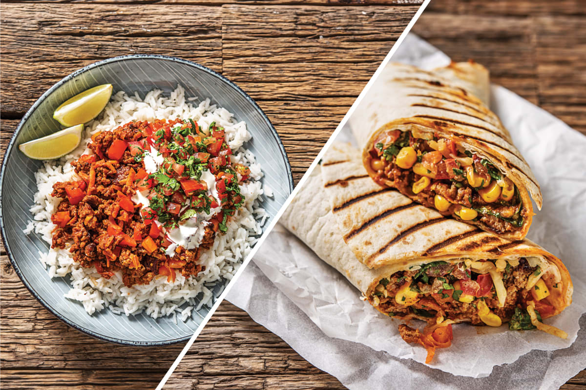 Chilli Dinner With Burrito Lunch Recipe Hellofresh