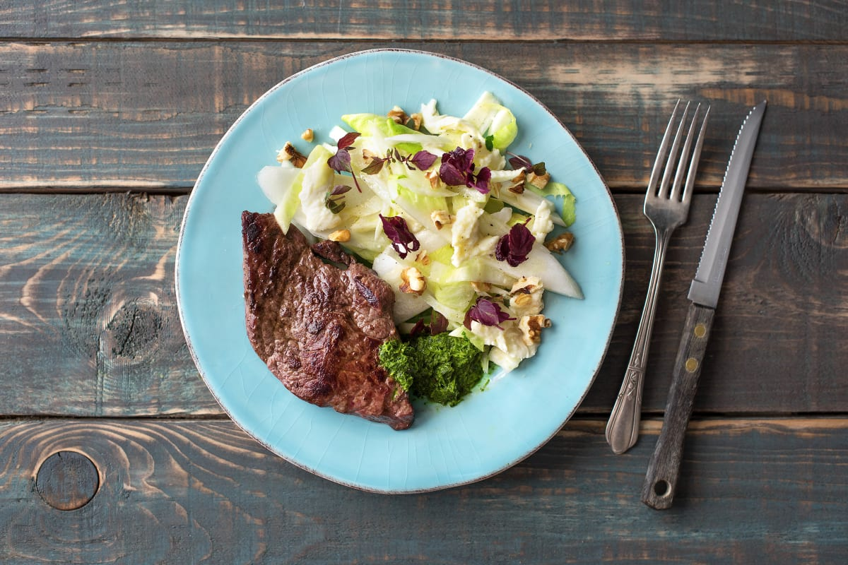 Low Carb: Chimichurri-Steak