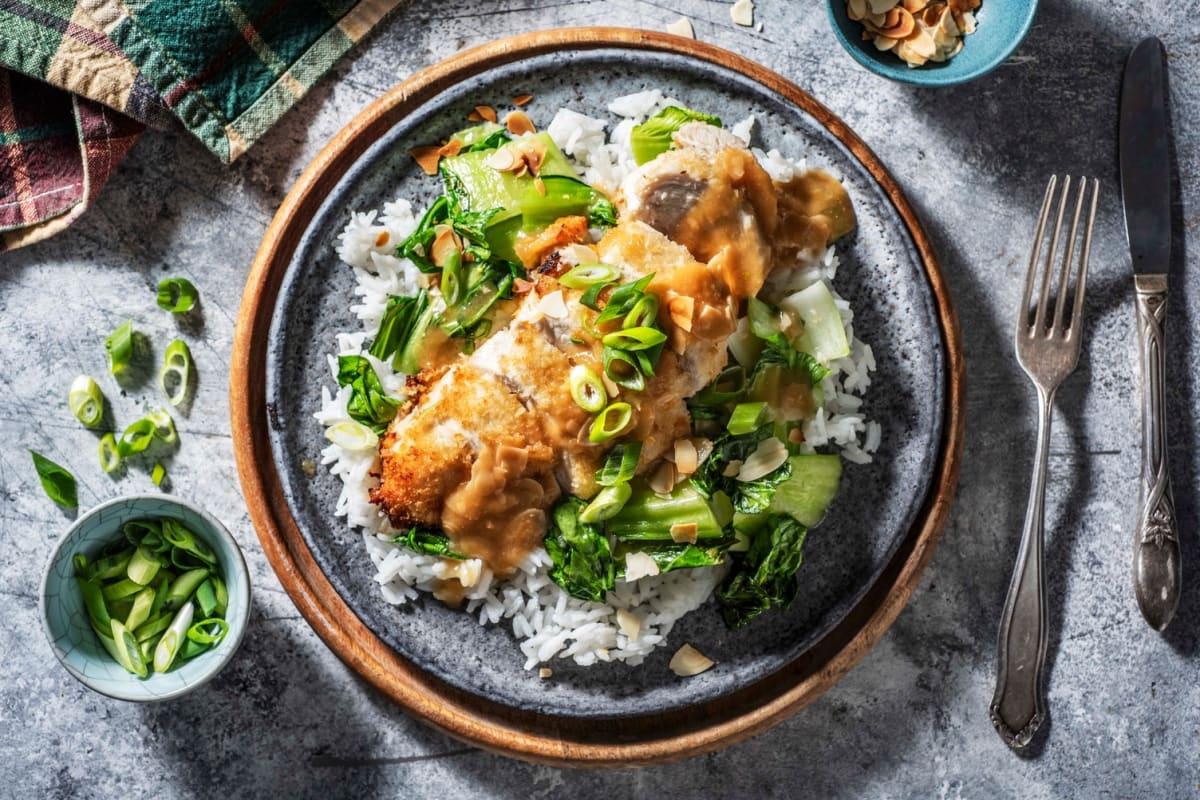 Chinese Almond Chicken Recipe Hellofresh